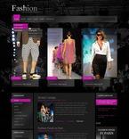 50329 Fashion, Wide Templates, Drupal Templates, Black Templates PSD Templates