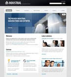 50333 Industrial, Flash 8, Wide Templates, Drupal Templates PSD Templates