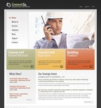 50336 Industrial, Wide Templates, Drupal Templates PSD Templates