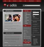 50399 Portal, Music, Joomla Templates PSD Templates