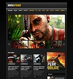 50572 Last Added, Games Moto CMS HTML Templates