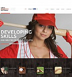 Stretched Flash CMS Theme #50647