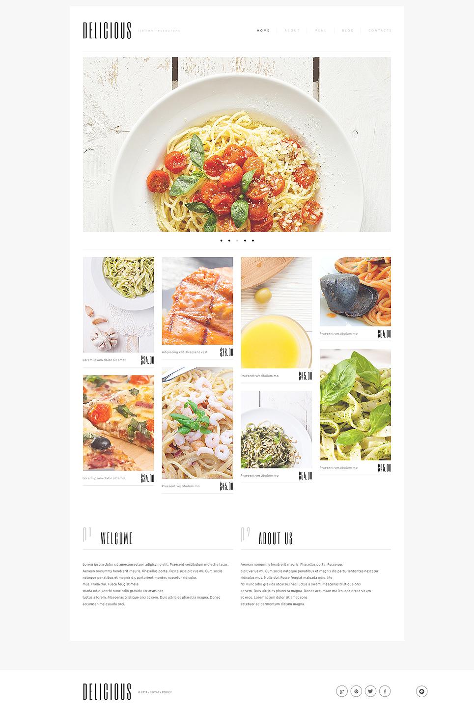 Italian Cuisine WordPress Theme