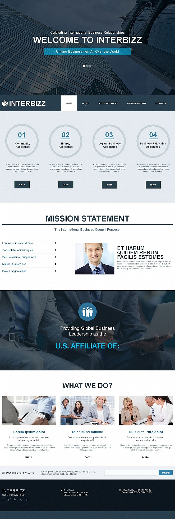Creative Business Template with CMS - image
