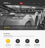 50865 Industrial Website Templates
