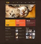 50957 Animals & Pets PSD Templates