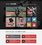 51055 Media Website Templates