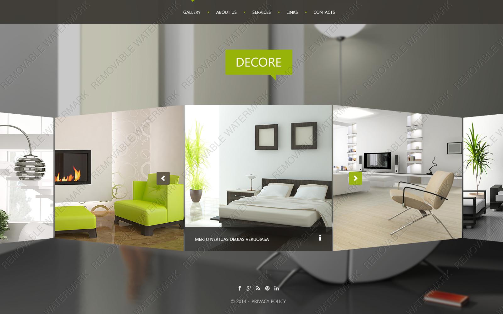 Интерьер и дизайн сайт