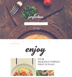 51118 Last Added, Cafe and Restaurant Website Templates