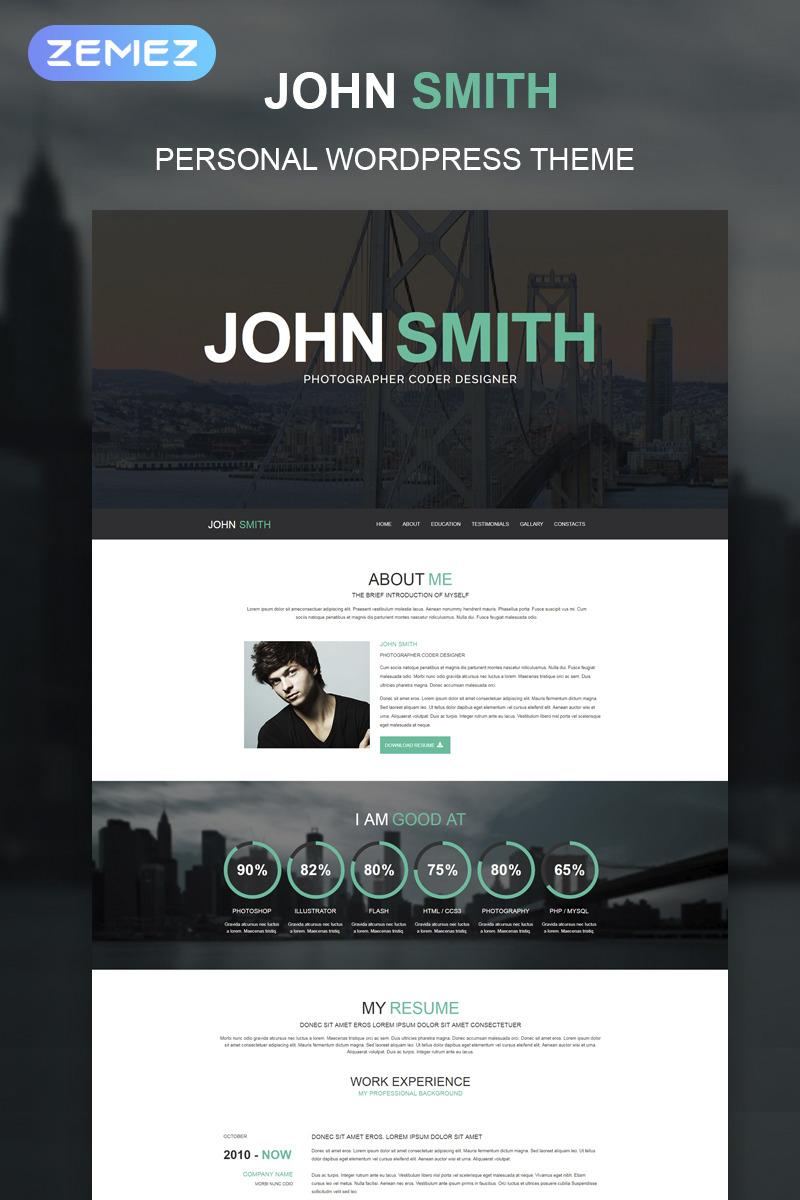 Top 15 Personal Profile WordPress Themes