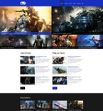 51312 Games Website Templates