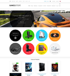 51374 Games ZenCart Templates