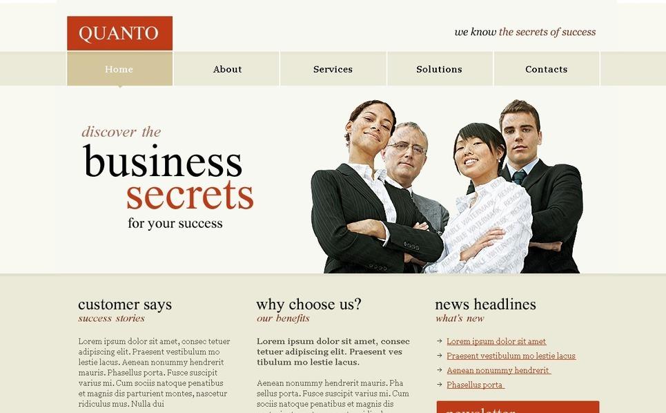 Free PSD Templates (PSD) Website Template New Screenshots BIG