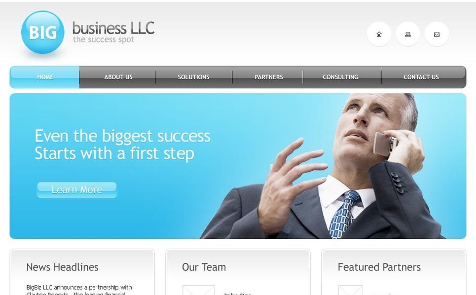 Free Business Website Template Website Template New Screenshots BIG