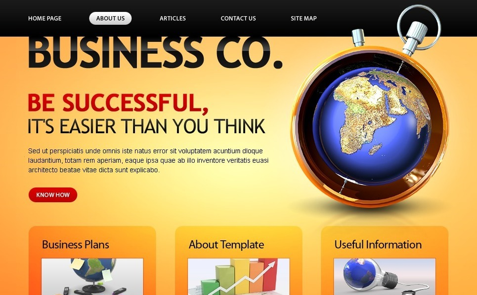 Free Business Company Template Website Template New Screenshots BIG