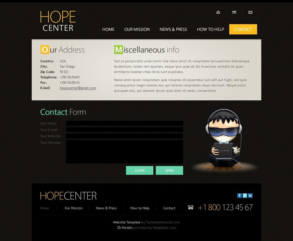 JQuery Responsive Website Template