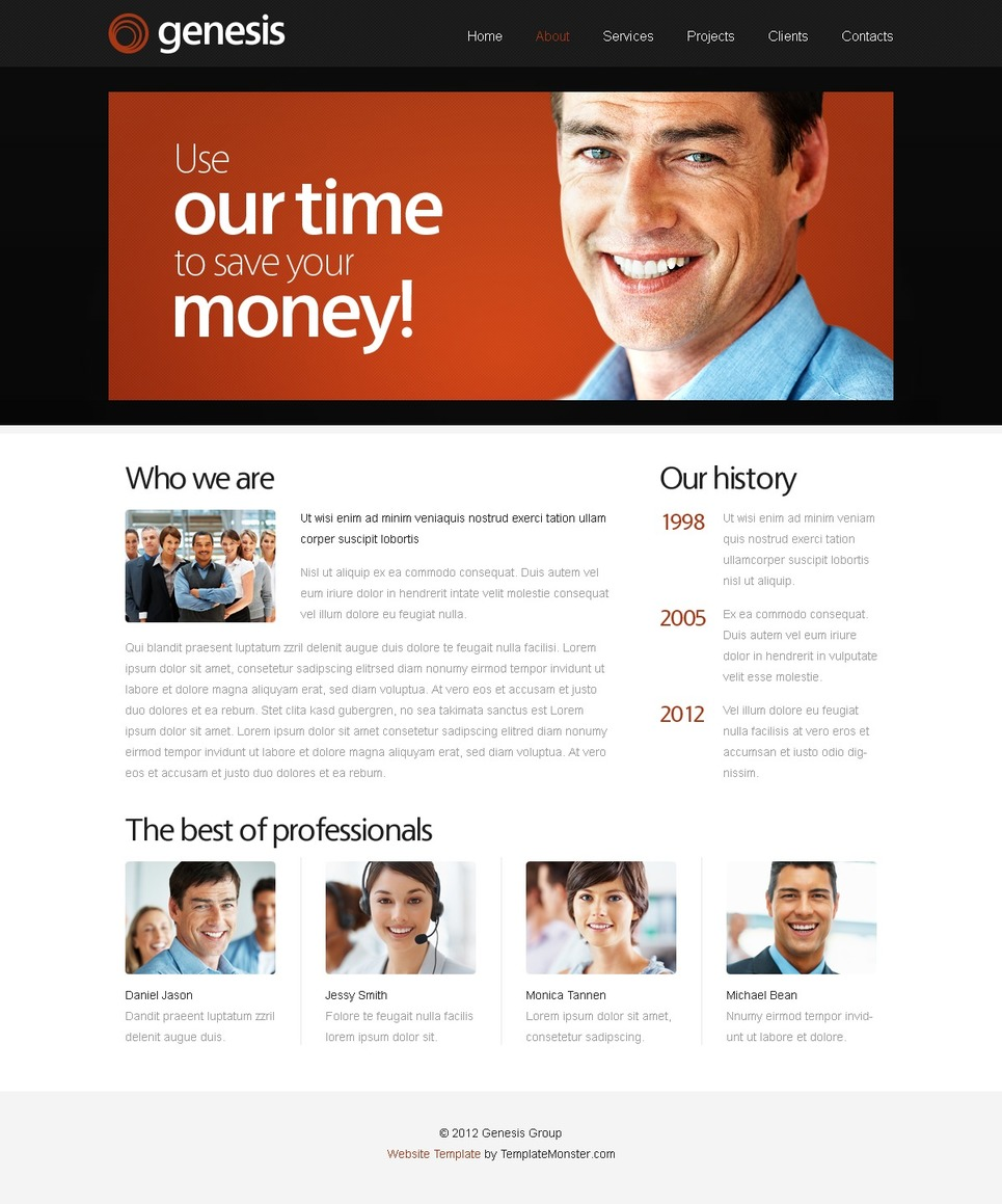 Free Website Template for Business Site Website Template New Screenshots BIG