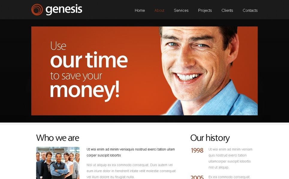 Free Website Template for Business Site Website Template New Screenshots BIG