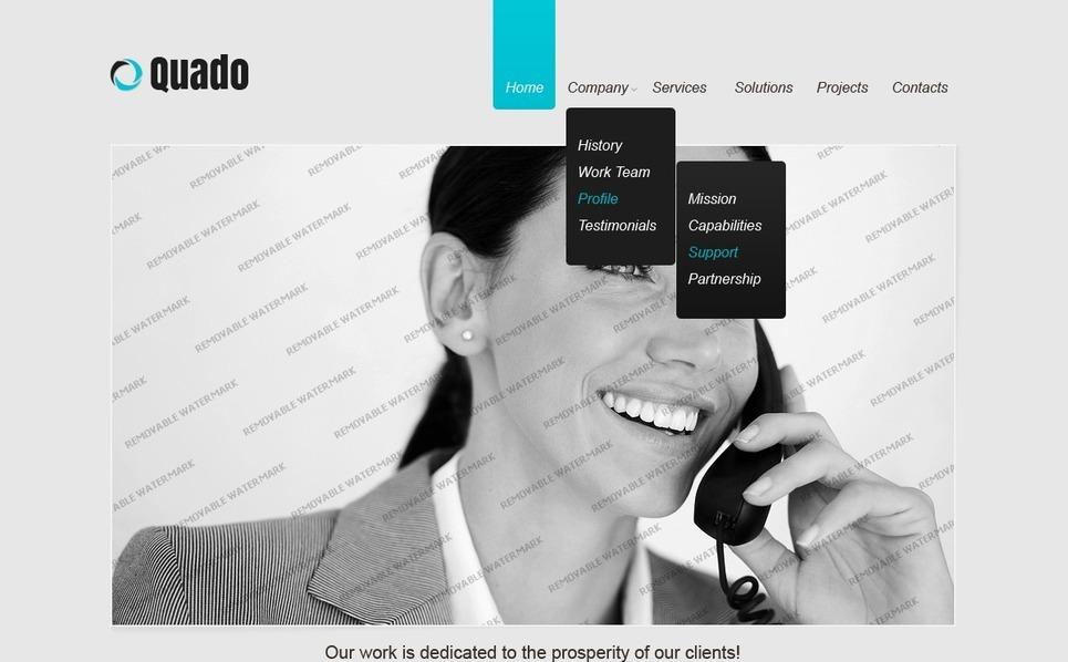 Free Responsive Website Template Website Template New Screenshots BIG