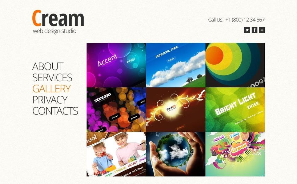 Free Full JS Website Template - Design Studio Website Template New Screenshots BIG