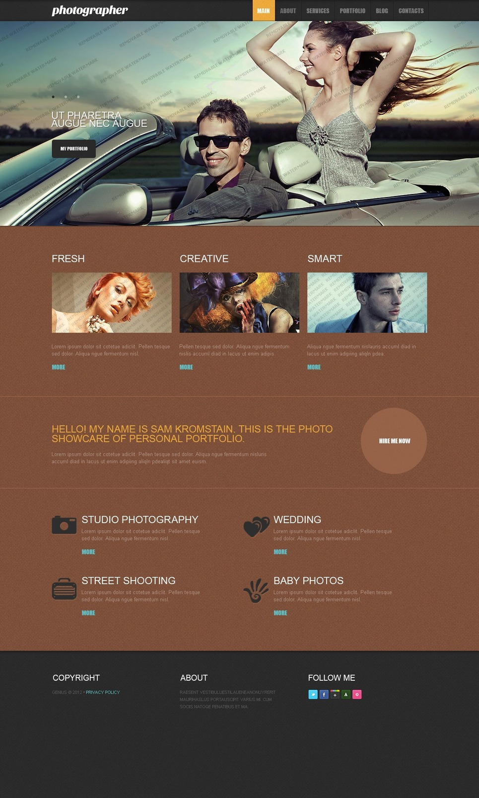 Free Responsive Drupal Template (Drupal) Drupal Template New Screenshots BIG