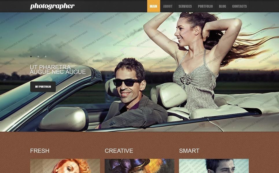 Free Responsive Drupal Template (Drupal) Drupal Template New Screenshots BIG