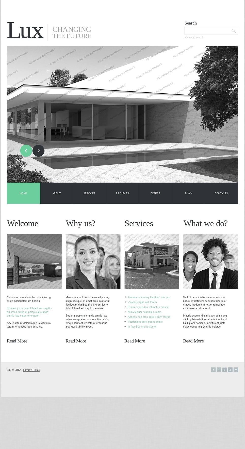 Free Joomla 3 Website Template Joomla Template New Screenshots BIG