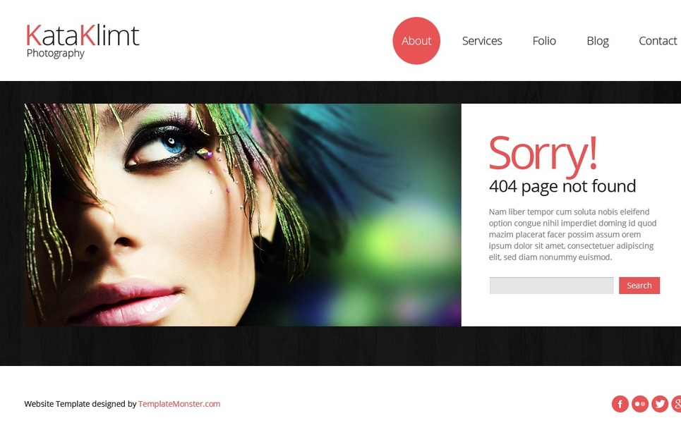 Bootstrap Free Responsive Template - Photography Website Template New Screenshots BIG