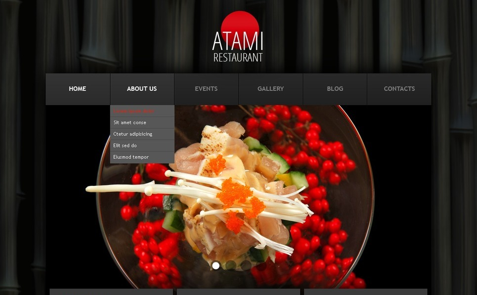 Free WordPress Theme - Restaurant WordPress Theme New Screenshots BIG