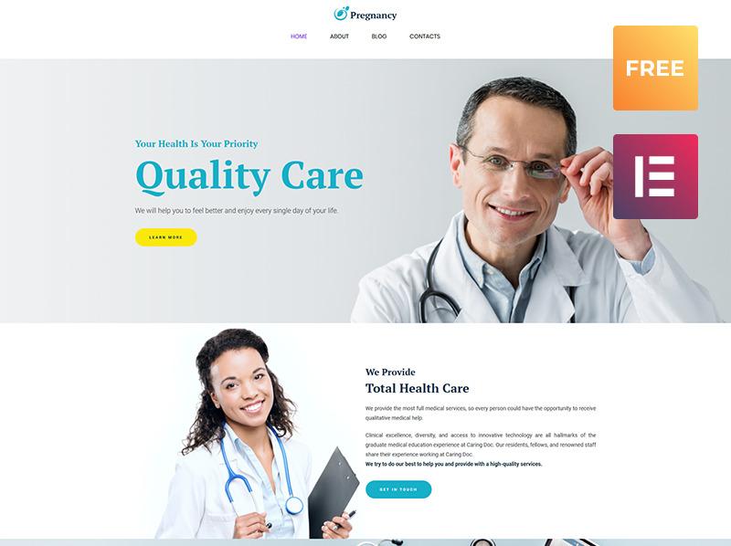 Free WordPress Template WordPress Theme New Screenshots BIG