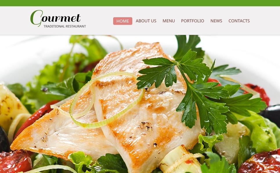 Free Website Template - Restaurant Website Template New Screenshots BIG