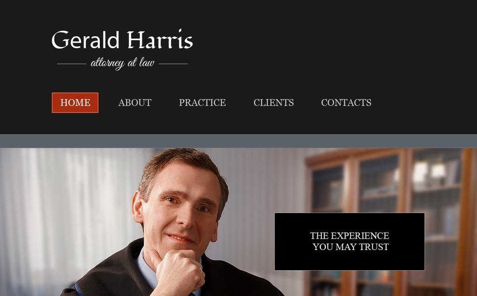 Free Website Template - Law Firm Website Template New Screenshots BIG