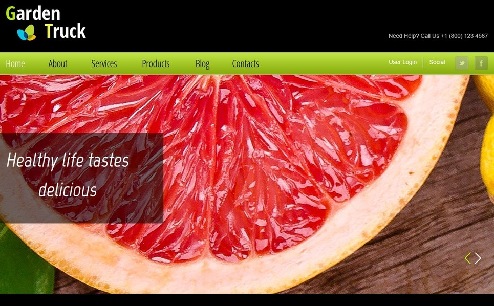 Free Website Template for Agriculture Site Website Template New Screenshots BIG