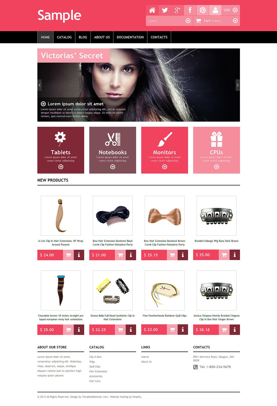 Free sample shopify template for Free shopify templates