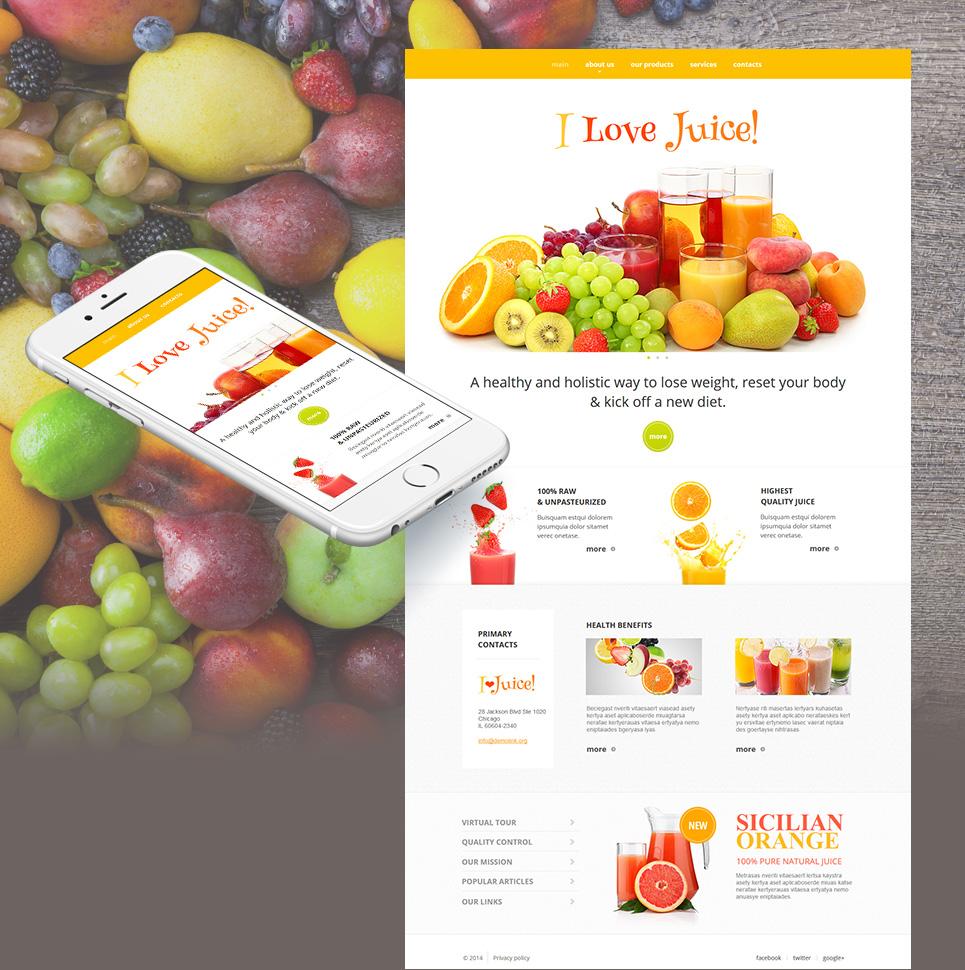 MotoCMS HTML Szablon #51724 z kategorii Jedzenie & Napoje - image