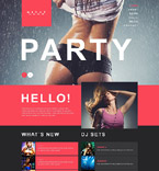 Muse Templates #52010