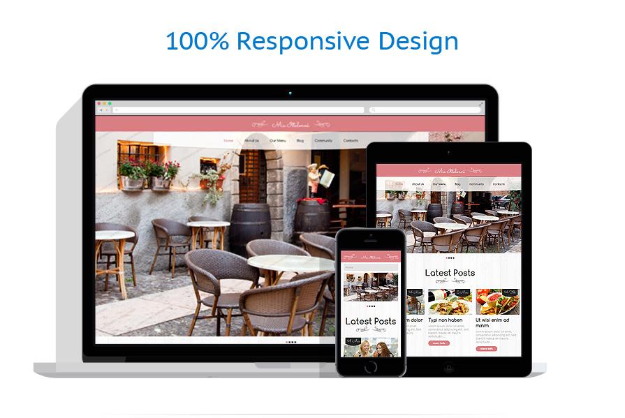 Free wordpress restaurant theme
