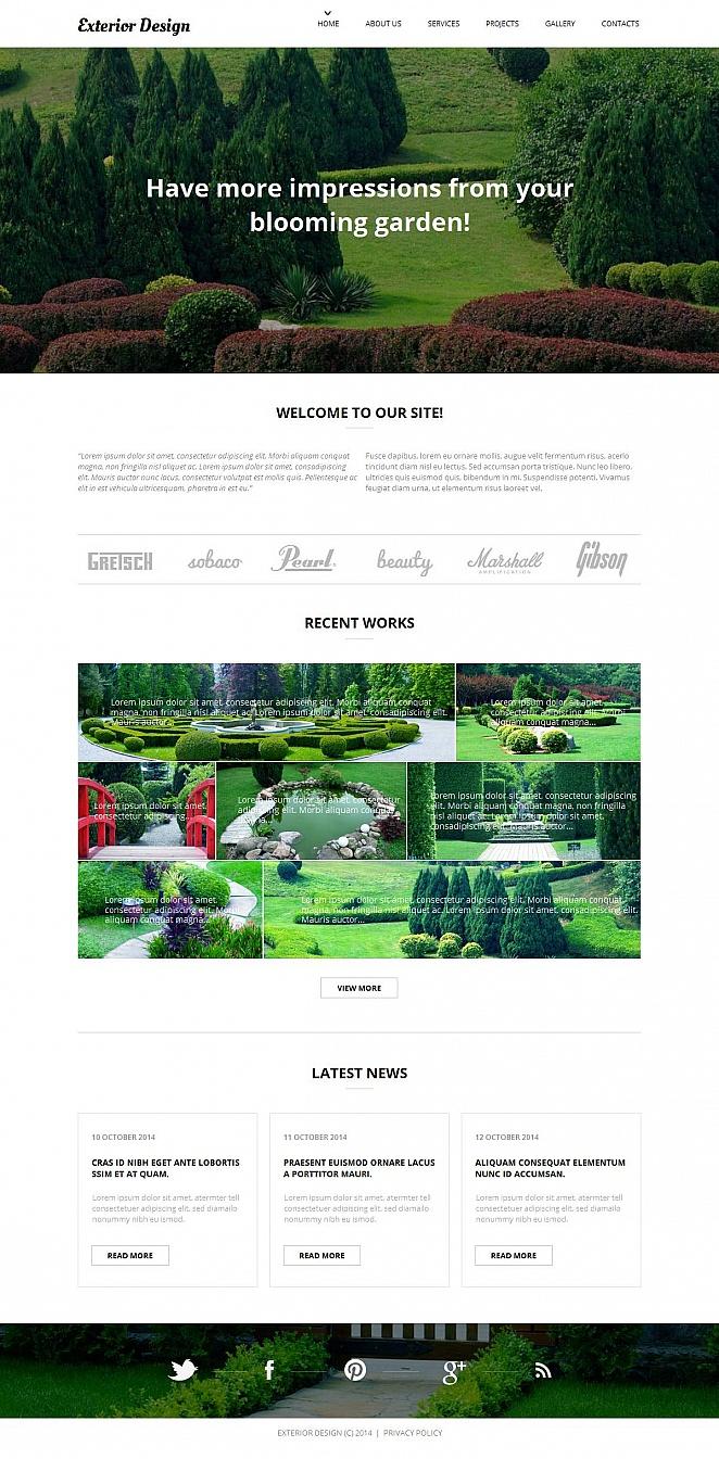 MotoCMS HTML Plantilla #52193 de categoría Exteriores - image
