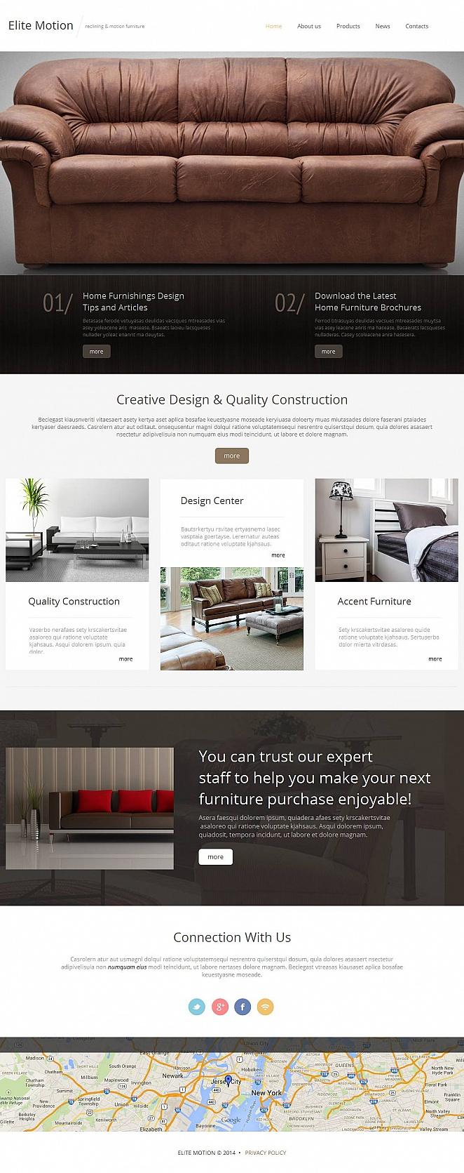 MotoCMS HTML Plantilla #52204 de categoría Interiores y muebles - image