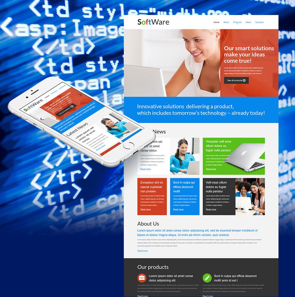 Сайт-визитка для бизнеса - image