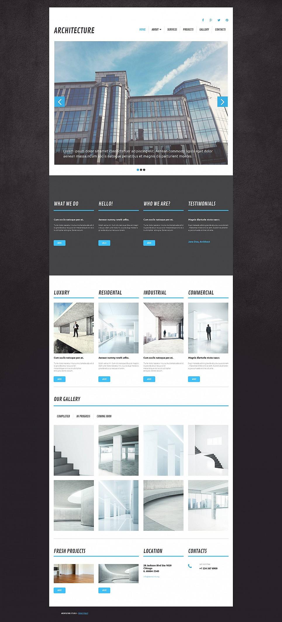 Architect Site Design - image