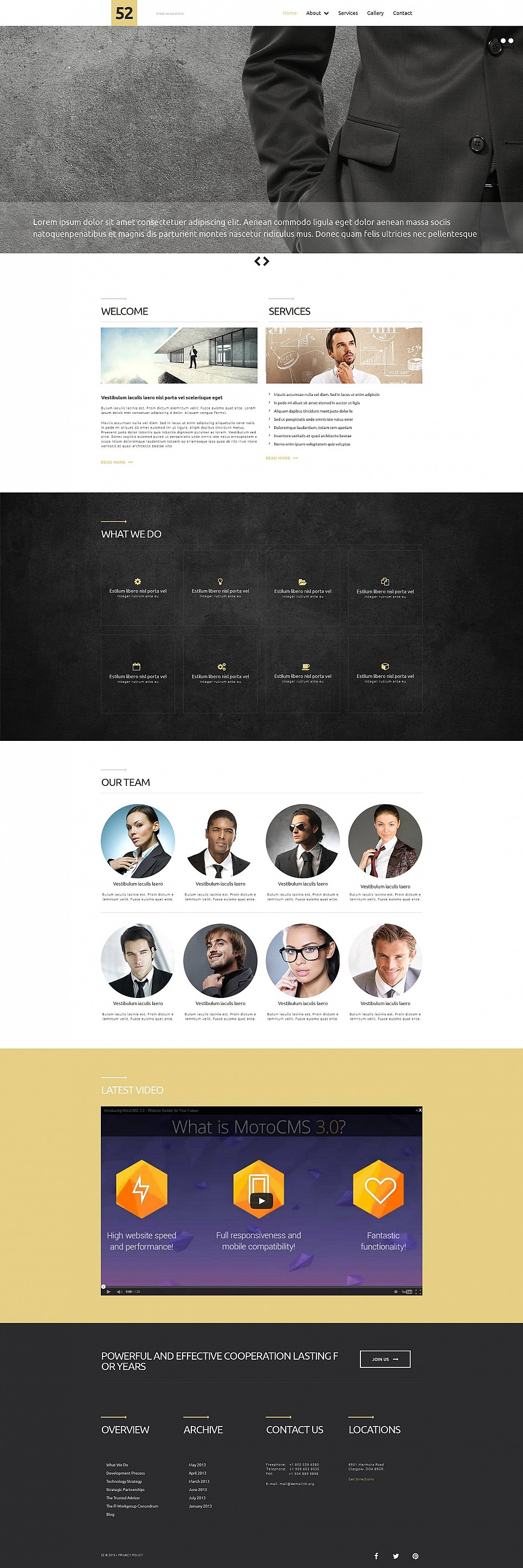 Small Business Website Builder - image
