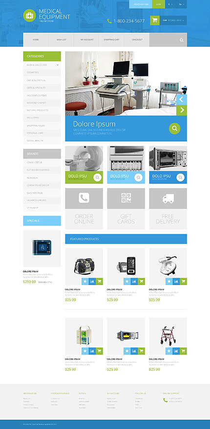 Opencart Template