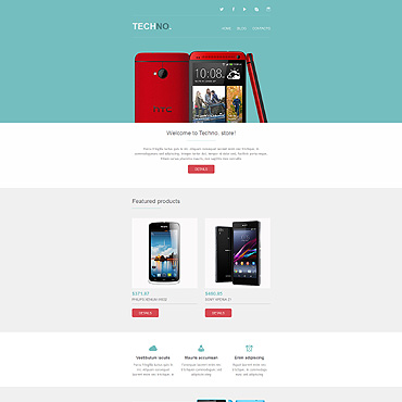Купить  пофессиональные Email шаблоны. Купить шаблон #52800 и создать сайт.
