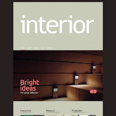 Interior Company Profile Free Website Templates For Download