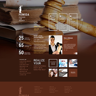 Homepage für Rechtsanwalt erstellen lassen