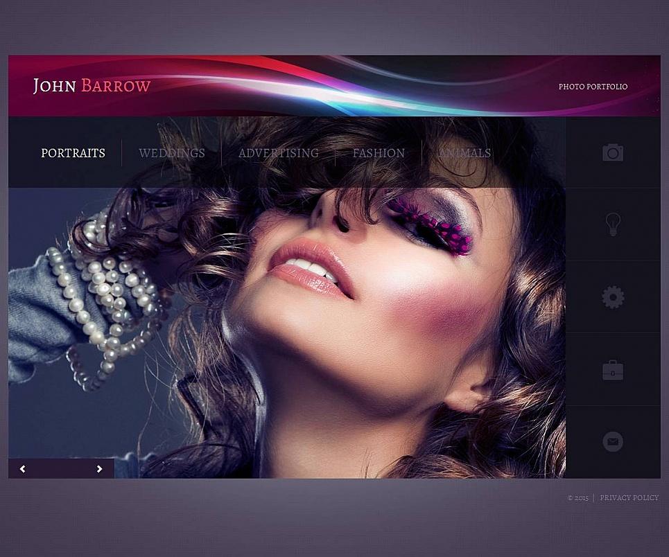 Complete Design for a Photography Web Portfolio - image