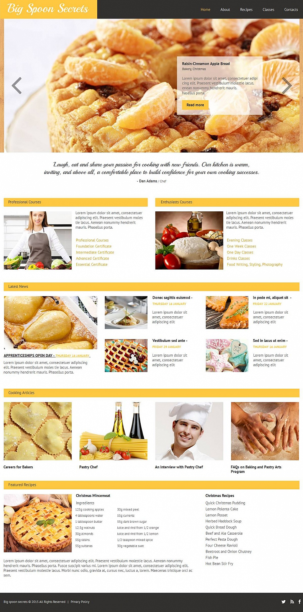Website Design for Cafe and Restaurant Business - image