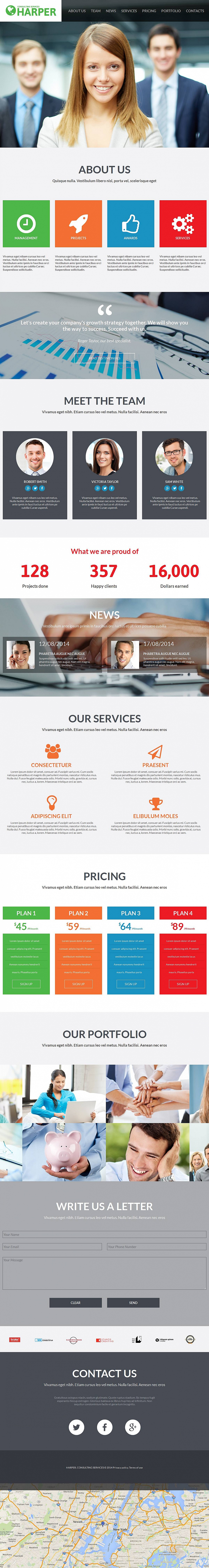 Complete Web Design for Your Consulting Business - image