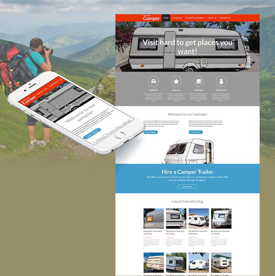MotoCMS HTML Шаблон #53230 из категории Путешествия - image